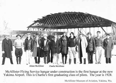 The Flying School Years